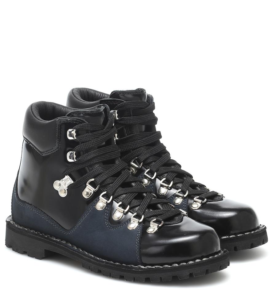 x Diemme Morgan leather ankle boots
