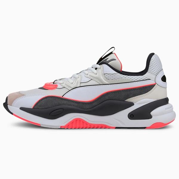 PUMA RS-2K Messaging 男鞋 女鞋 訓練 皮革 緩衝 復古 黑灰【運動世界】37297505