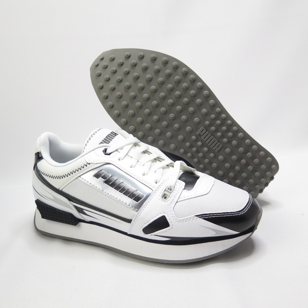 PUMA MILE RIDER SUNNY GATAWAY 女款 休閒鞋 37344305 白黑【iSport愛運動】