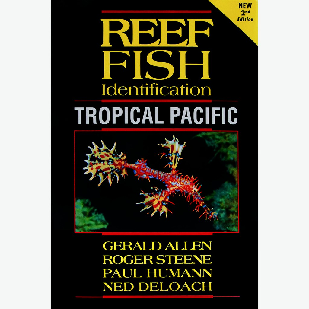 {EZDIVE}珊瑚魚圖鑑 Reef Fish Identification-Tropical Pacific