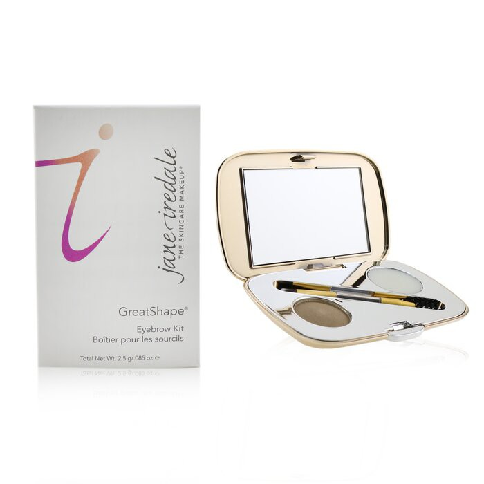 愛芮兒珍 - GreatShape Eyebrow Kit (1x Brow Powder, 1x Brow Wax,