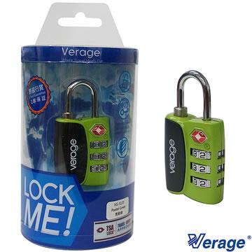 Verage 維麗杰 城市系列TSA海關密碼鎖(綠)