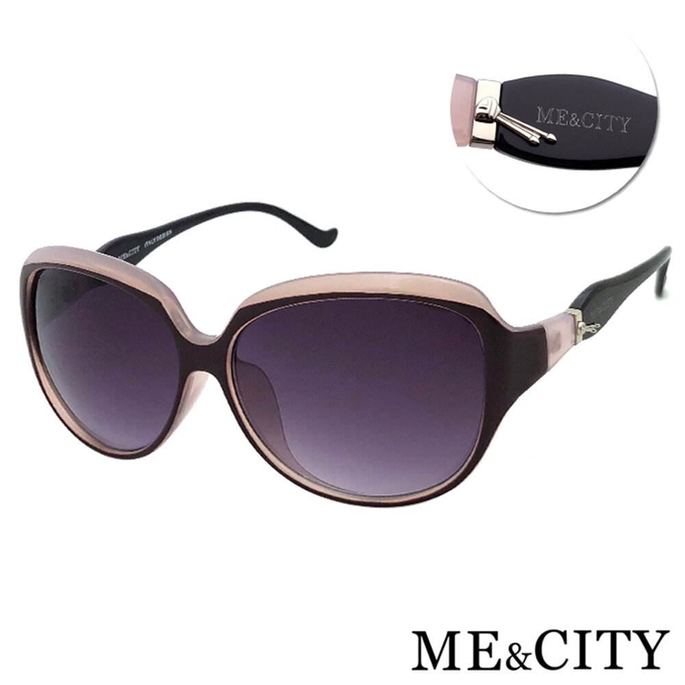 ME&CITY 甜美秘戀雙色太陽眼鏡 抗UV400 (ME 1213 H02)