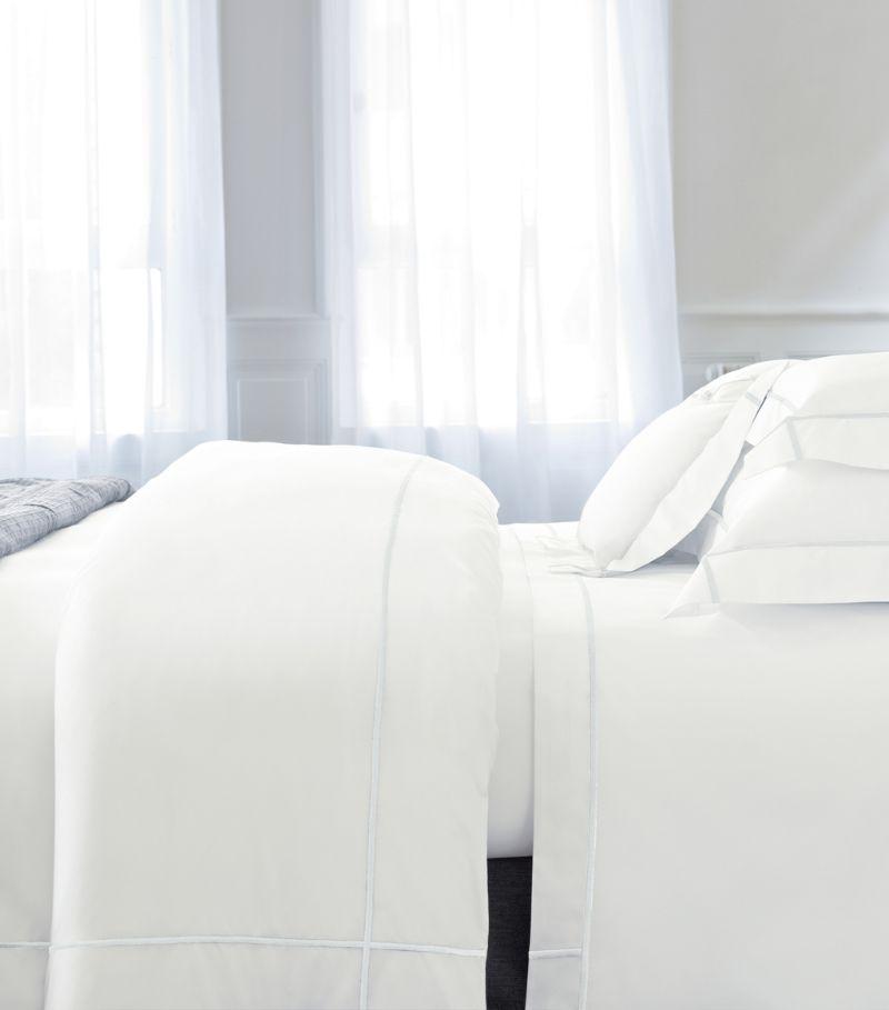 Yves Delorme Athena Blanc Oxford Pillowcase (50Cm X 75Cm)