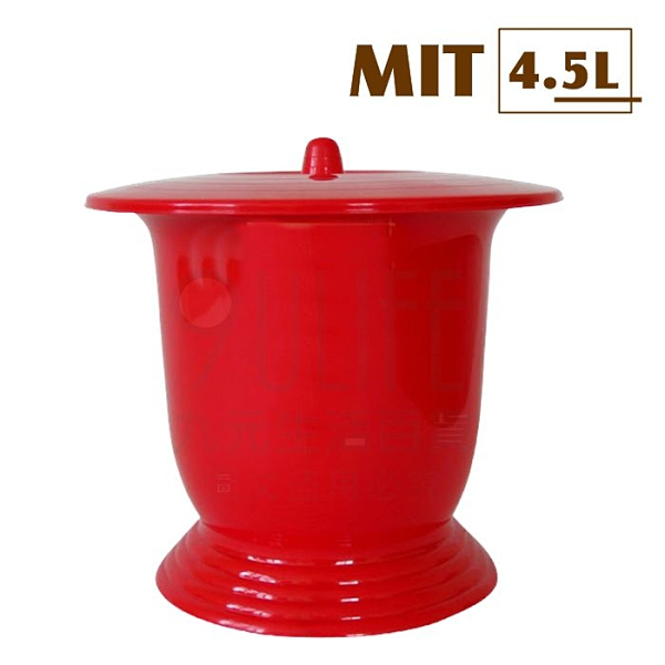【九元生活百貨】行動式大便器/4.5L 痰盂 尿壺 便桶 恭桶 MIT