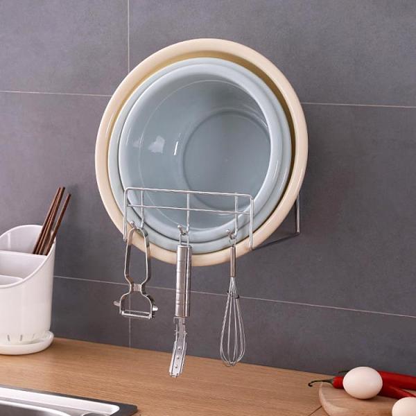 收納廁所洗手間架子浴室置物盆子【櫻田川島】