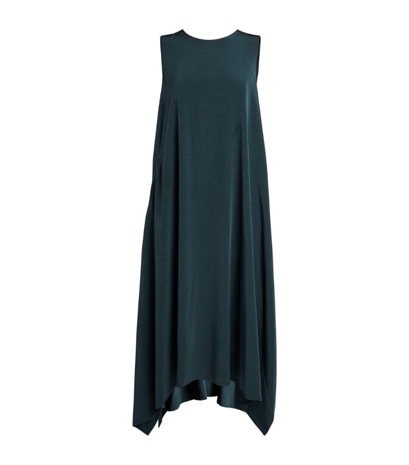 Yohji Yamamoto Asymmetric Midi Dress
