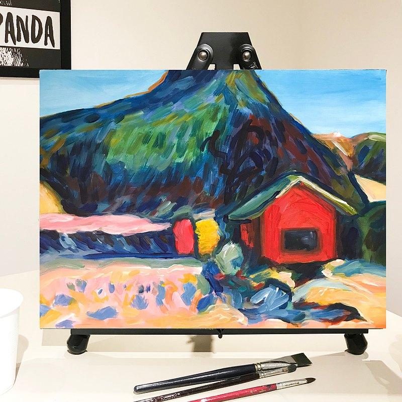 (荃灣) 康丁斯基 彩色冬天畫班 Kandinsky Winter Painting Class
