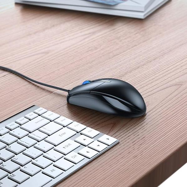有線滑鼠有線靜音無聲USB家用辦公台式筆記本電腦商務電競lol游戲cf 【全館免運】