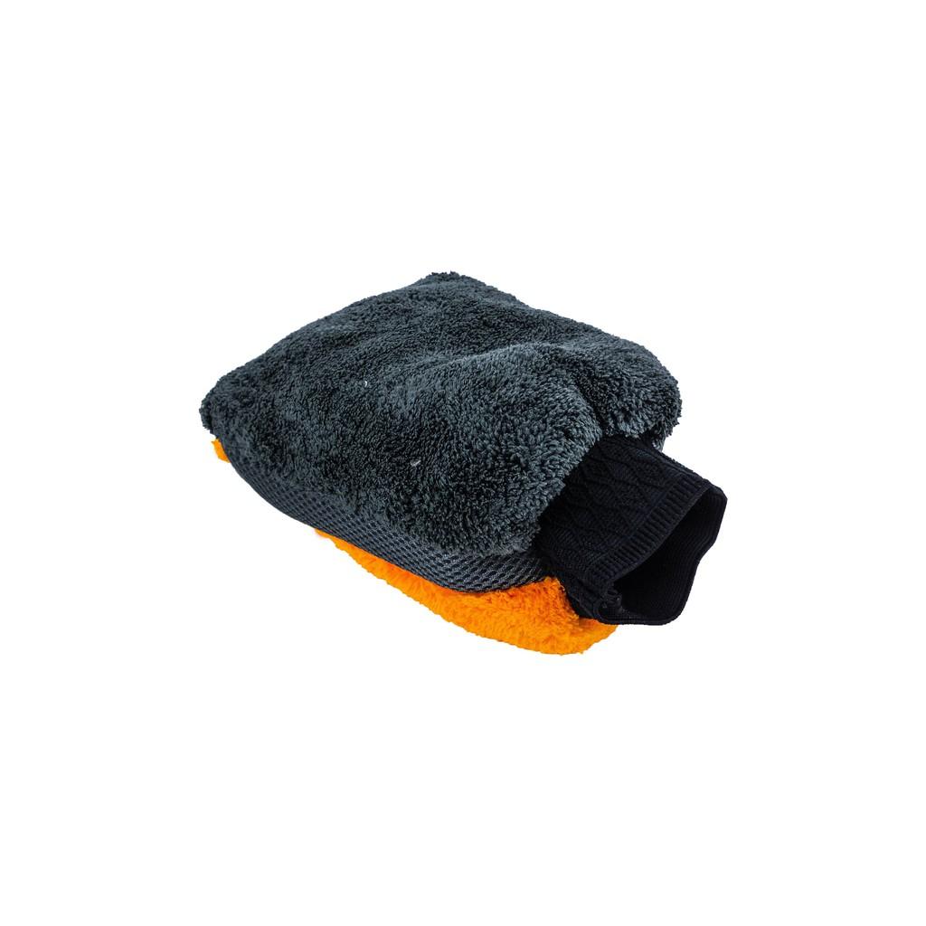 特級珊瑚絨防水洗車手套 洗車手套 羊毛手套 雪尼爾 熊掌手套 五指手套 珊瑚絨 防水手套 鋁圈手套 清潔手套