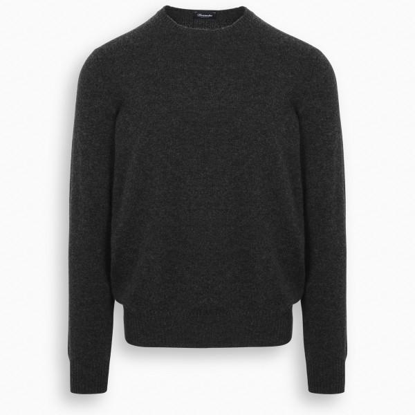 Drumohr Grey cashmere sweater