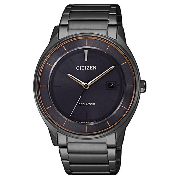 CITIZEN 星辰 光動能 BM7407-81H 簡約大三針休閒型男錶-40mm