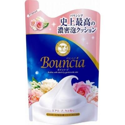 日本 牛乳石鹼 Bounica美肌保濕沐浴乳 清新花香補充包400ml