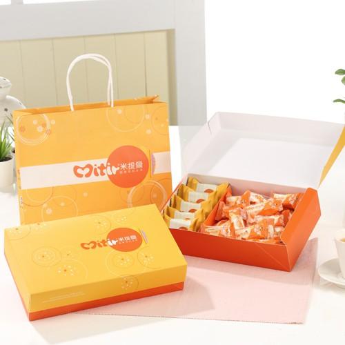 <米提爾>原味牛軋糖+鳳梨酥5入特製禮盒