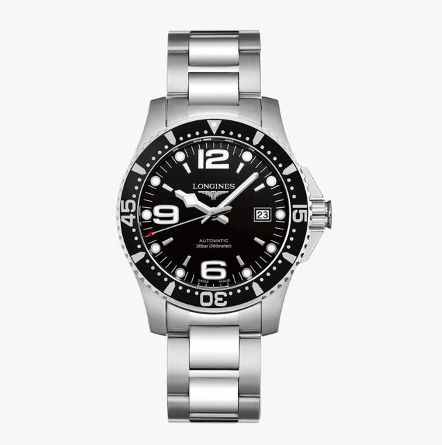 浪琴 L37424566 康卡斯潛水系列機械腕錶 41mm
