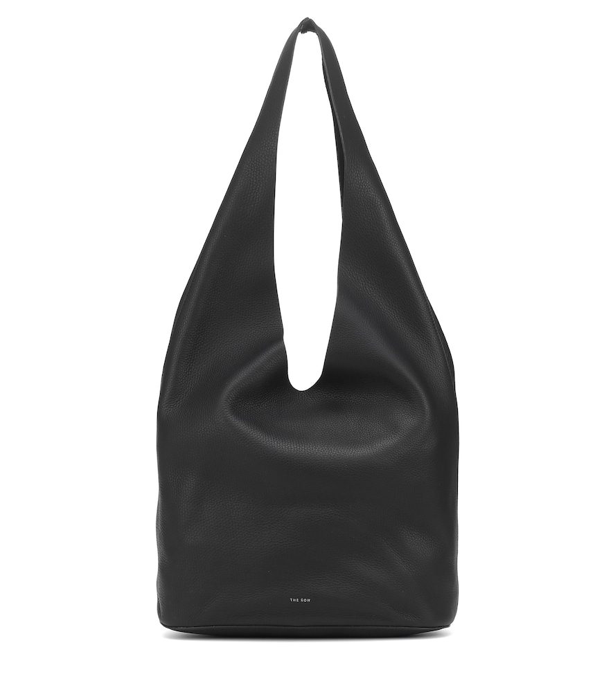Bindle Three leather tote