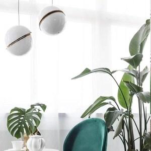 【H&R安室家】40CM 白金吊燈