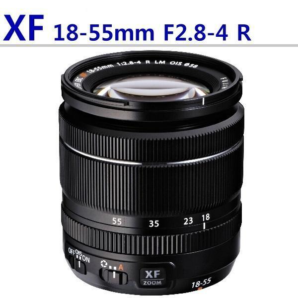 【中壢NOVA-水世界】FUJIFILM XF 18-55mm F2.8-4 R 變焦鏡頭 一年保固  白盒 平輸