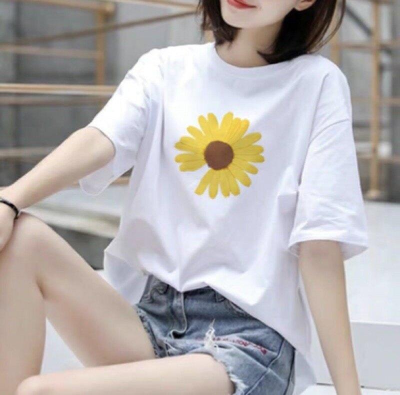 『  短袖 』✠◊ 純棉上衣 圓領上衣 白色上衣 T恤 短袖 透氣 時尚 寬鬆 百搭 ins 潮衣 【JKJ M】#