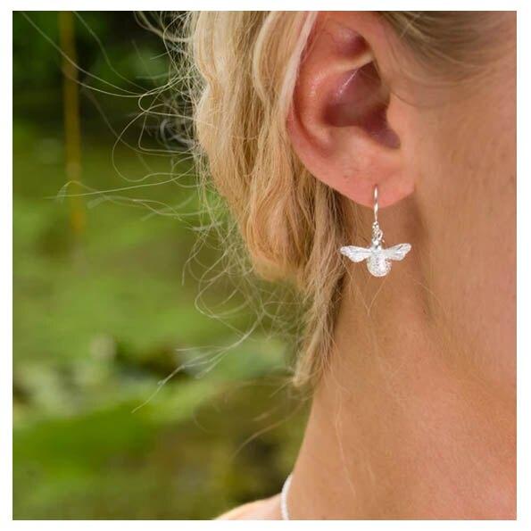 銀淬坊 PurCoeur 925純銀 動物款式嗡嗡小蜜蜂耳環1對