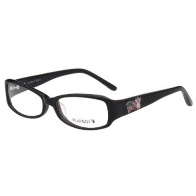 PLAYBOY-時尚光學眼鏡-黑色-PB85190