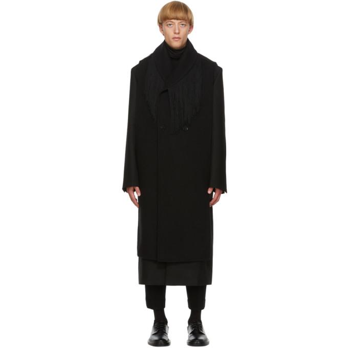 Jil Sander 黑色羊绒马甲