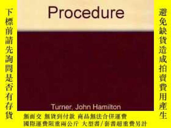 二手書博民逛書店Architectural罕見Practice and Proc