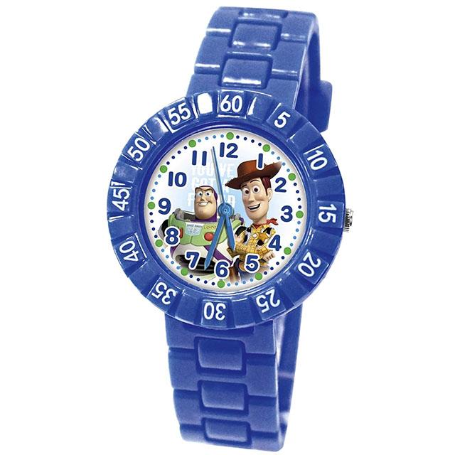 【Disney迪士尼】玩具總動員俏皮轉圈手錶-好友齊聚