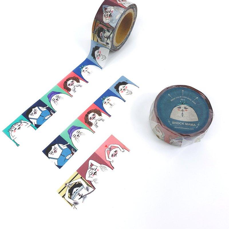 Mr.微胖男孩/日本丸天和紙膠帶