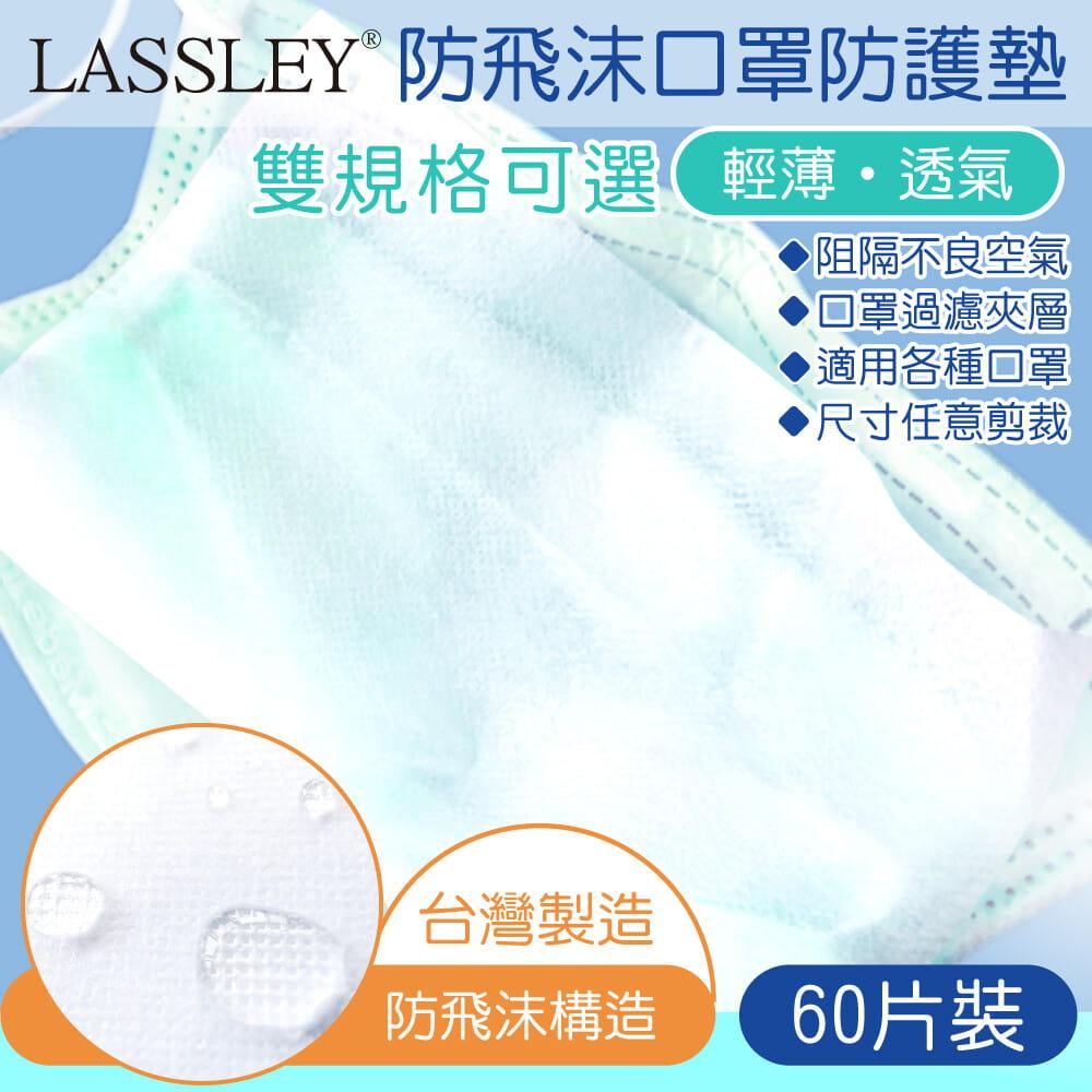 防飛沫口罩防護墊濾片-60片裝(台灣製造 雙款可選)