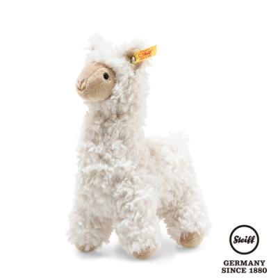 STEIFF德國金耳釦泰迪熊  Leandro Llama 羊駝(動物王國) 14cm