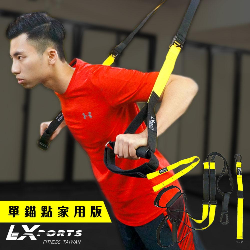 LEXPORTS 阻力式懸吊訓練繩 (單錨點家用版)TR-HOME(懸吊核心/門扣拉繩/門擋/懸吊運動/懸浮訓練)