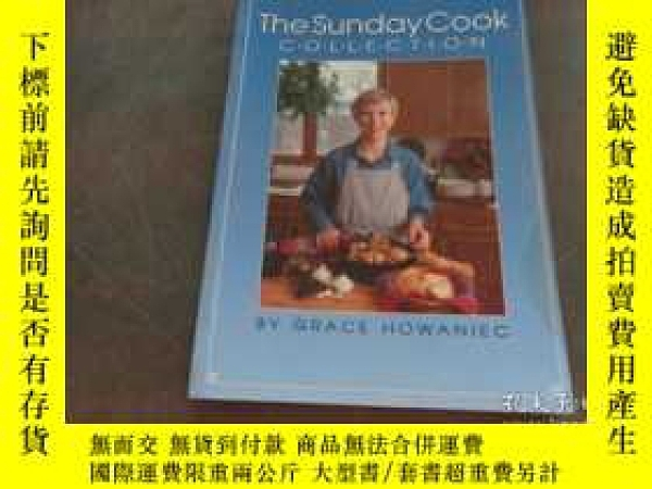 二手書博民逛書店the罕見Sunday cook collection翻譯:星期
