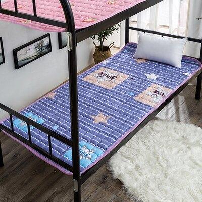 可機洗床墊軟褥子學生宿舍單人上下鋪0.9m1.2米薄款家用夏季『xxs5110』