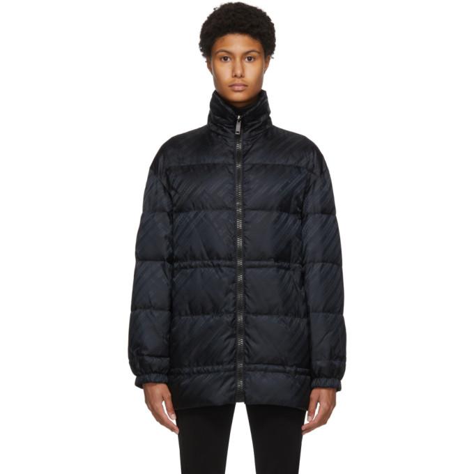 Givenchy 黑色双面徽标夹克