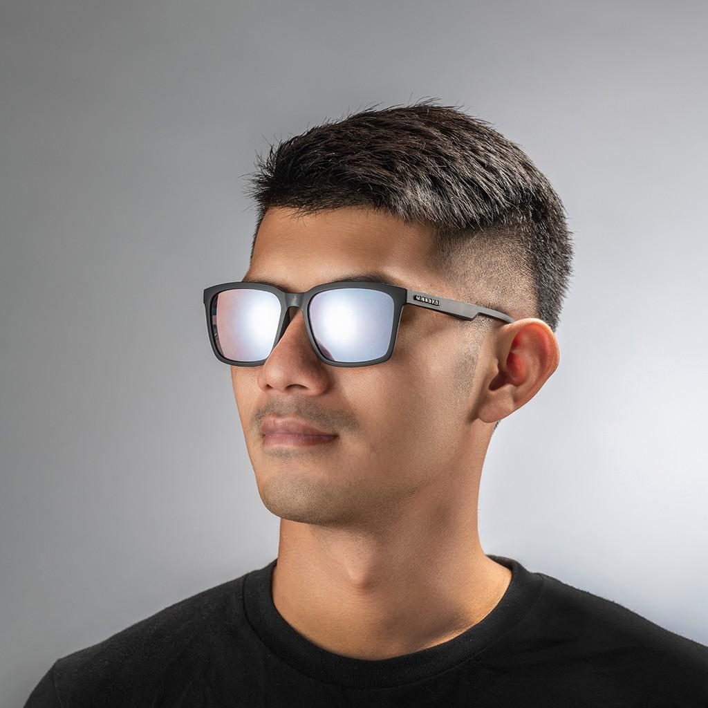 SQUARE 霧黑鏡框|增艷玻璃偏光太陽眼鏡(8款可選)19B01
