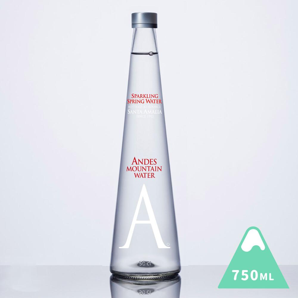 安地斯山氣泡天然山泉水 750 ml 1入