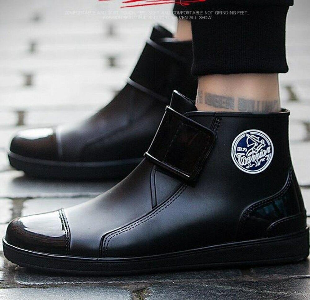 雨鞋 男士時尚短筒雨靴女水靴套鞋耐磨防滑防水鞋膠鞋廚房水鞋
