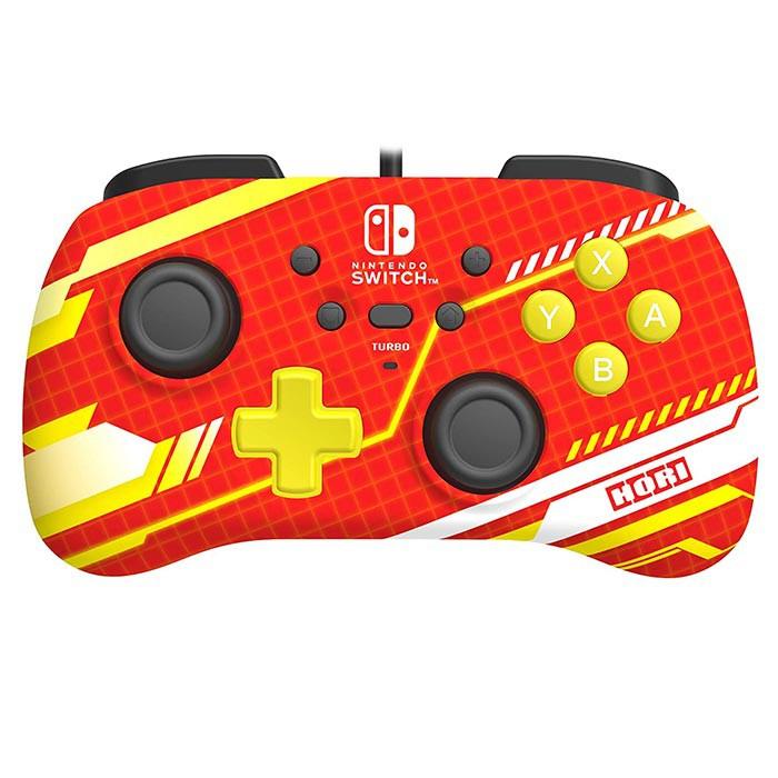 【Nintendo Switch 周邊】HORI 有線迷你控制器(機械紅)
