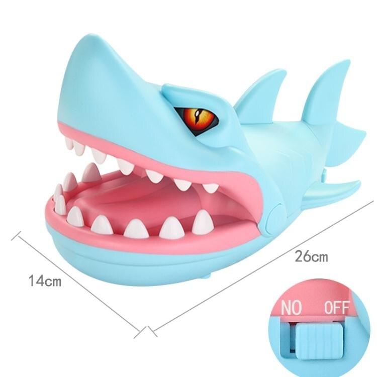 抖音熱門咬手指鯊魚咬手鱷魚創意整蠱整人惡搞解壓減壓神器小玩具 秋冬新品特惠