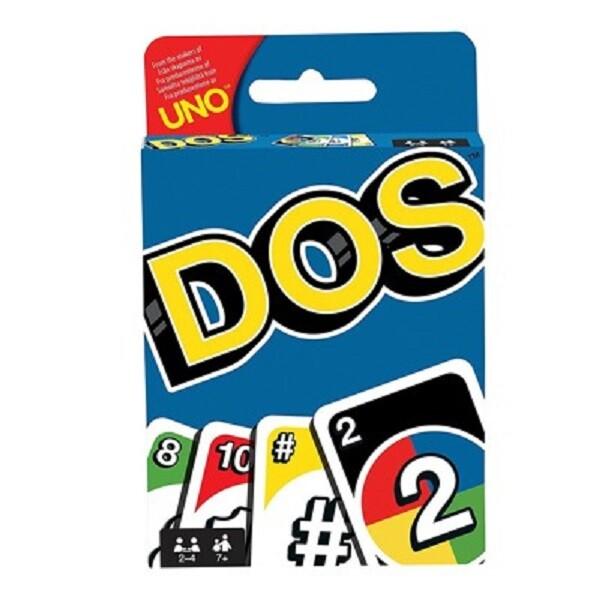 送薄套 mattel dos遊戲卡 數學遊戲 uno烏諾牌 優諾牌 美泰兒 正版桌上遊戲