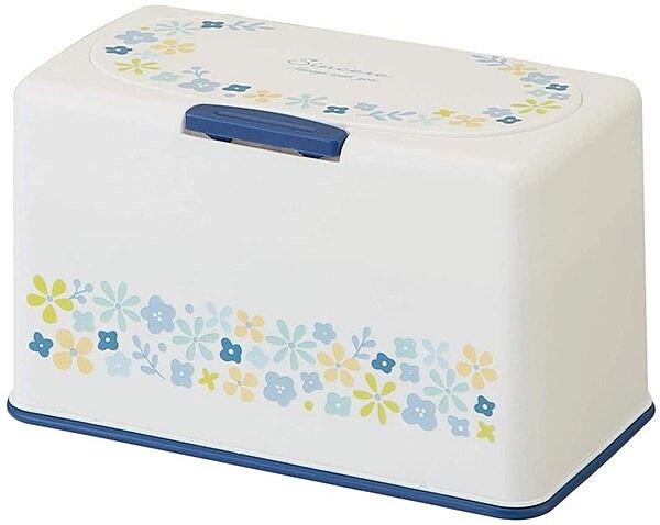 【小花 口罩收納盒】小花 花朵 抽取式 口罩收納盒 面紙盒 收納60片 日本正品 該該貝比