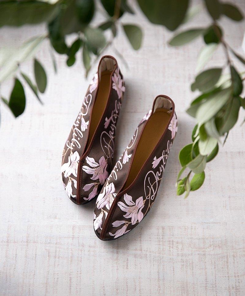 DAYLILY原創繡花鞋Pinkoi獨家特別訂製色