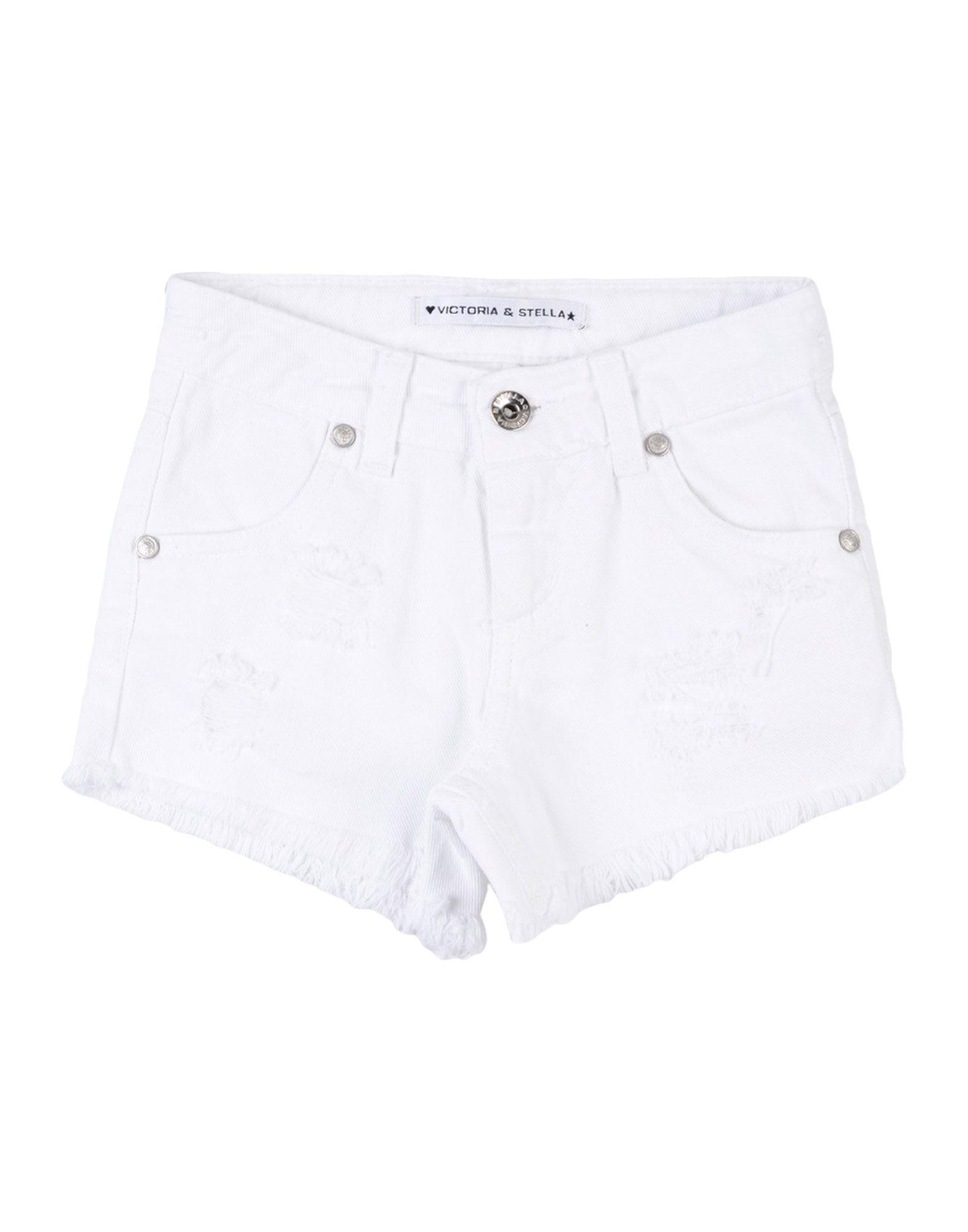 VICTORIA & STELLA Denim shorts - Item 42695770