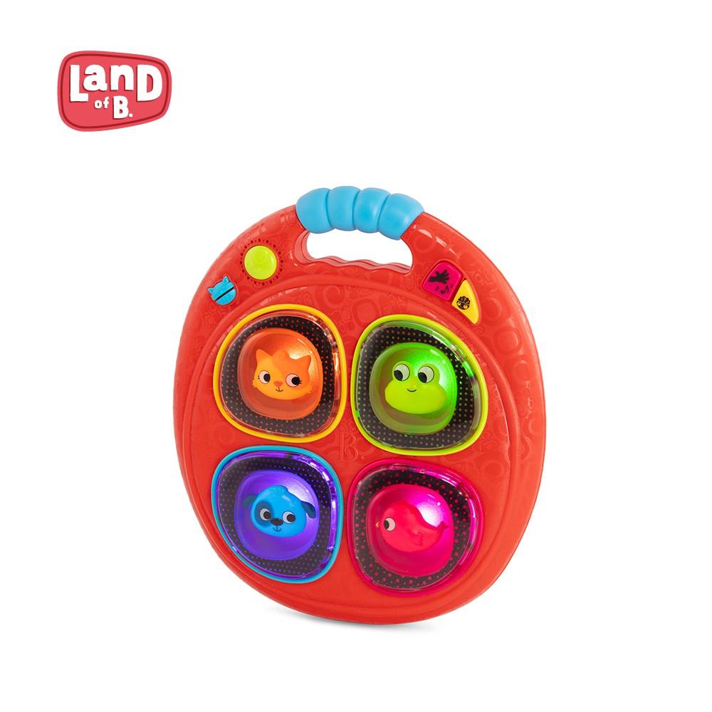 B.Toys Land of B.聲物細胞反應爐(蘋果紅) 手部肌肉 音樂 樂器 玩具