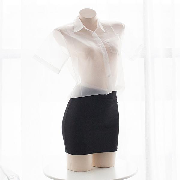 窄裙 性感包臀裙百搭黑色短裙一步裙半身裙OL職業短裙包裙女黑色迷你裙 歐歐