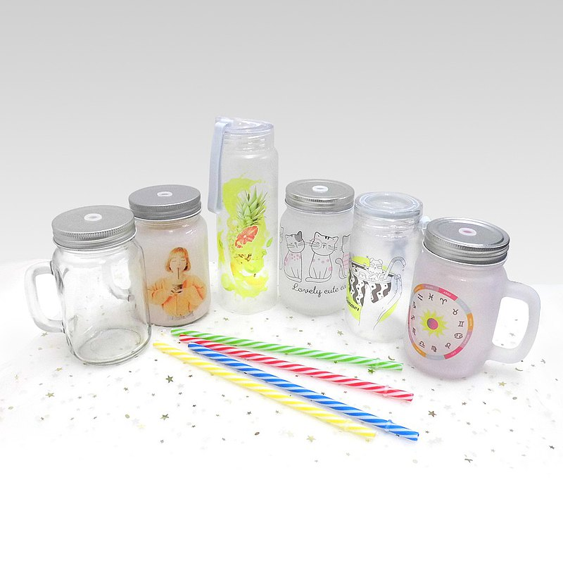 客製化 梅森杯 訂製 玻璃杯 直身玻璃瓶 梅森罐 宣傳禮贈品 訂做