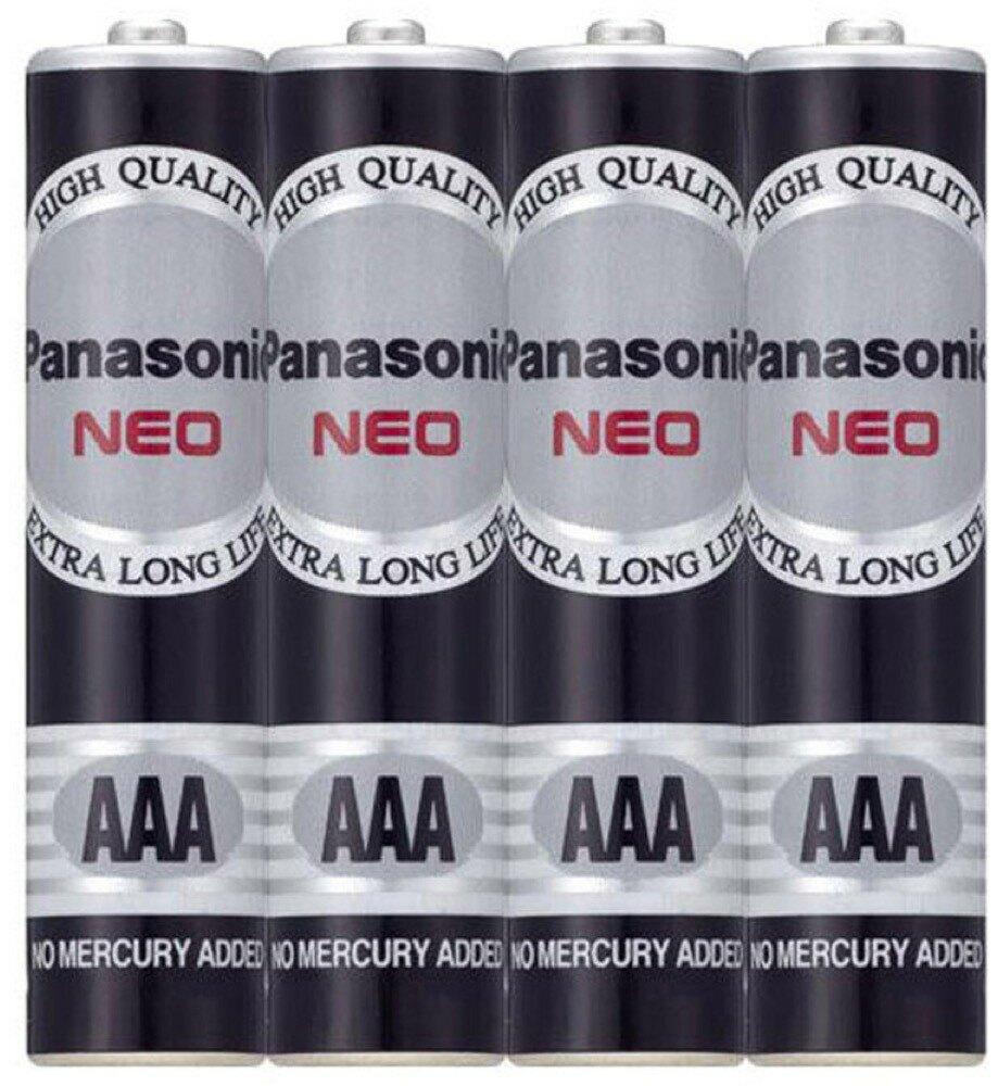 Panasonic國際牌 4號電池(AAA) 4入/組 R03NNT/4SC