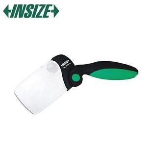 【INSIZE】2倍+6倍可收折放大鏡 附LED