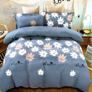 AGAPE 亞加‧貝《藍-楓情》MIT舒柔棉單人3.5尺兩件式薄床包組